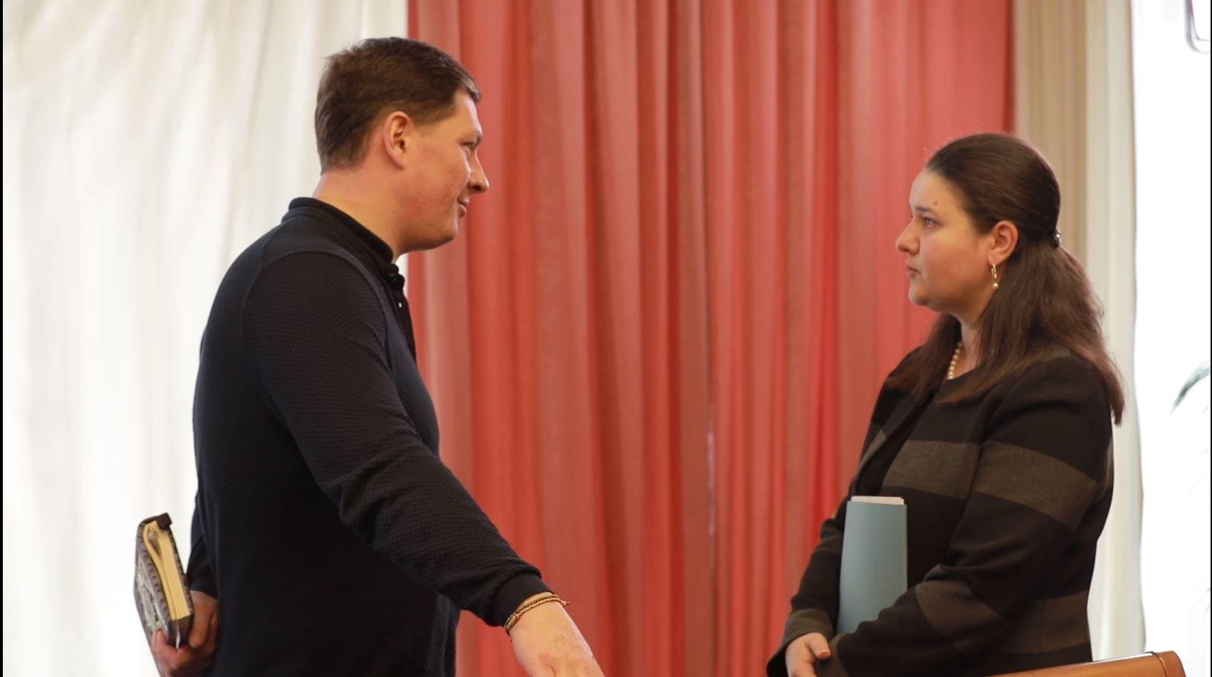 Макарова, інтервью