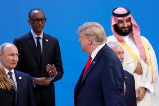 Трамп не пожал руку Путину на саммите G20
