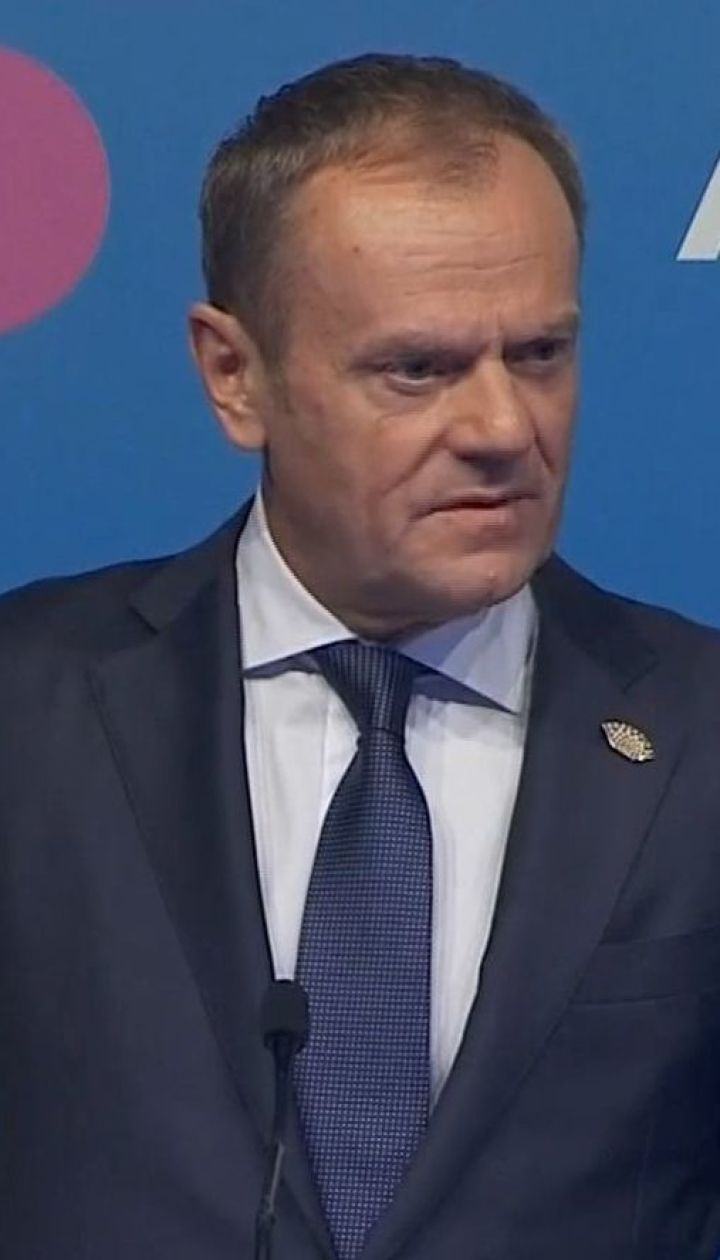Дональд Туск заявив, що Євросоюз подовжить санкції проти Росії у грудні