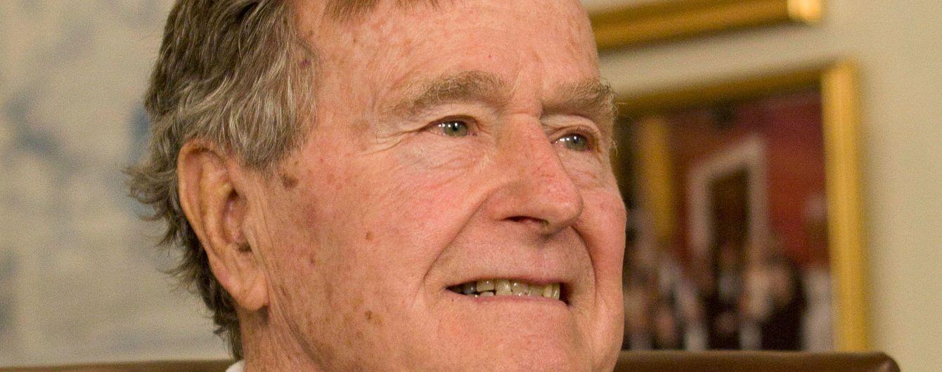 Порошенко висловив співчуття щодо смерті Джорджа Буша-старшого