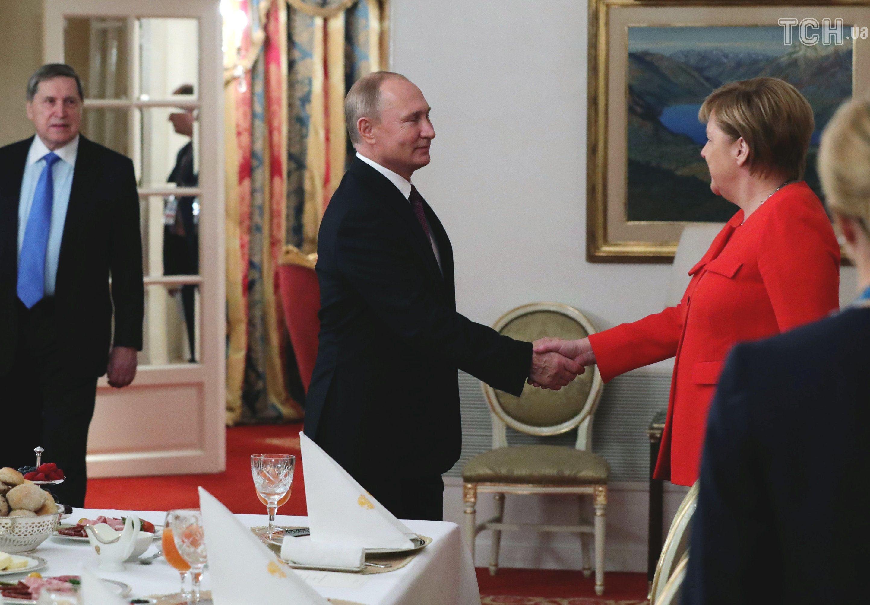 Меркель і Путін, саміт G20