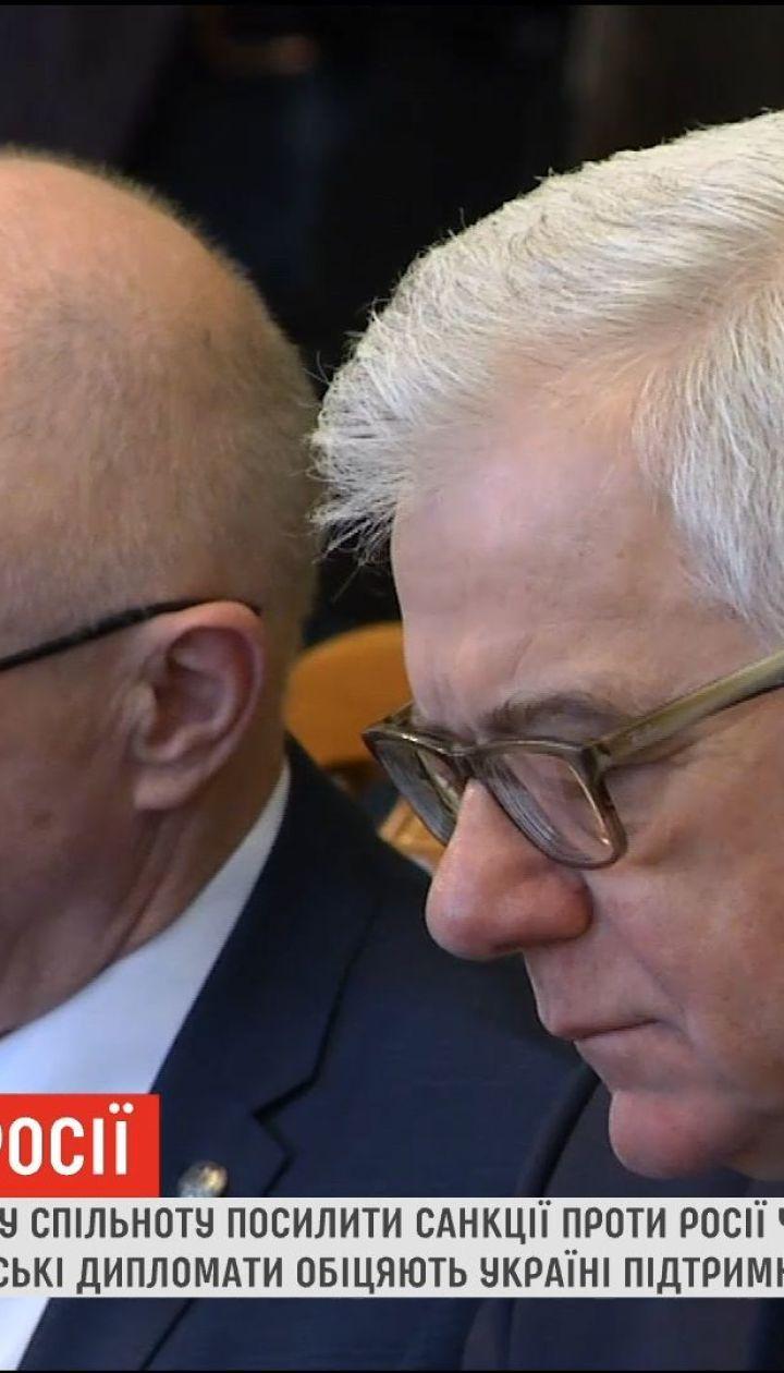 Польща закликає посилити санкції проти Росії