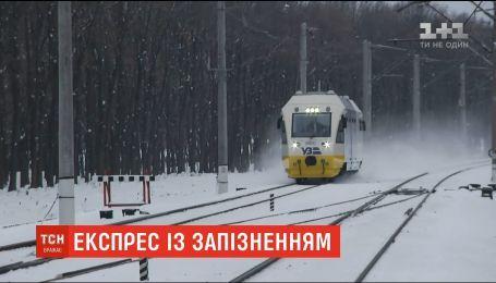 Экспресс Киев-Борисполь сломался на второй день после запуска