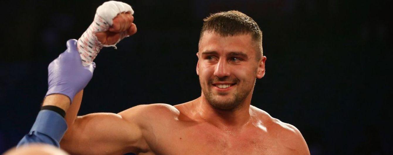 Українець Гвоздик нокаутував Стівенсона та став чемпіоном світу у напівважкій вазі