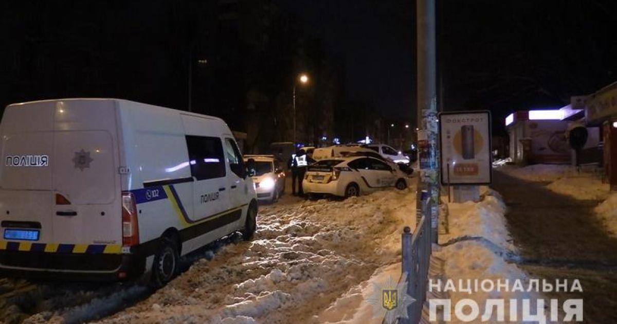 Фото с места убийства @ ГУ Национальной полиции в Киеве