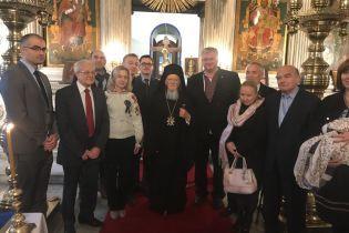 Патріарх Варфоломій провів спільну з українцями молитву у Стамбулі