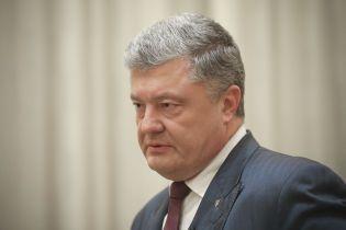 Порошенко рассказал, когда будет рад остановить закон о военном положении
