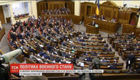 Политические игры: кому было выгодно введение военного положения в Украине