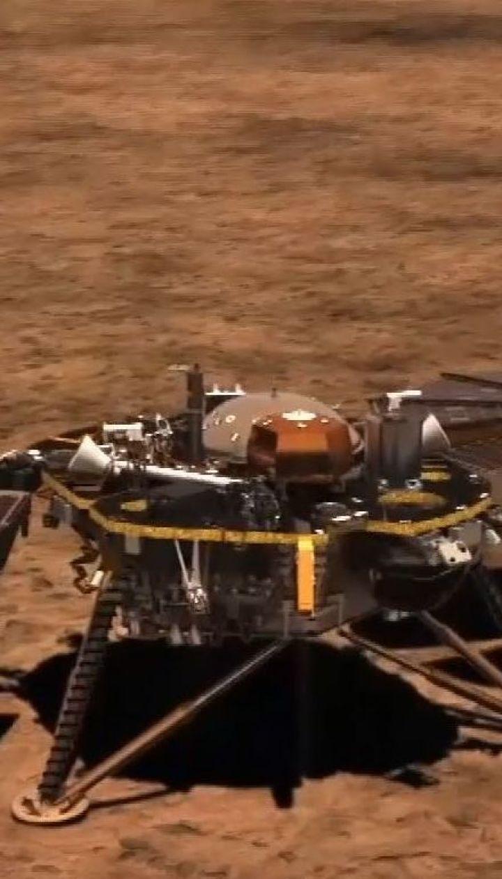Космічний зонд InSight здійснив посадку на Марс