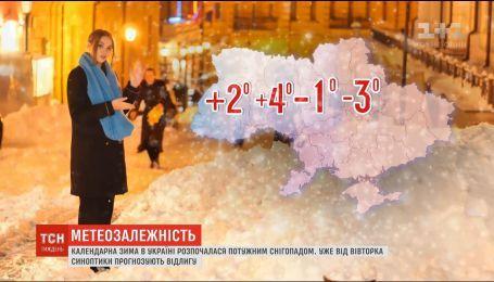 Синоптики прогнозируют повышение температуры на всей территории Украины