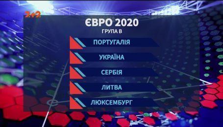 Сборная Украины узнала, с кем сыграет в отборе на Евро-2020