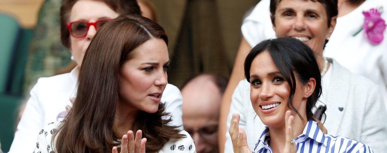 Букінгемський палац вперше прокоментував чутки про стосунки Кейт і Меган
