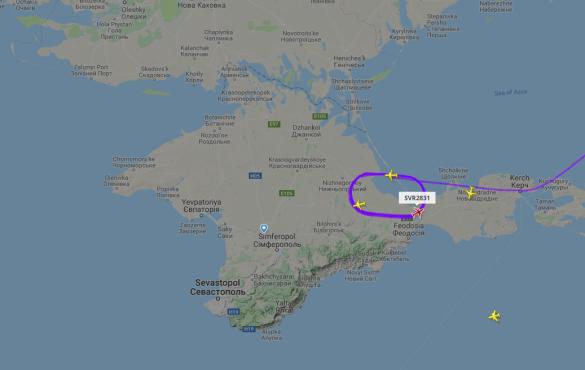 авіація над Кримом