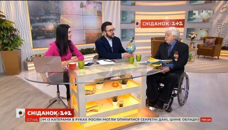 """Екстремальний мандрівник Микола Подрезан у гостях """"Сніданку"""""""