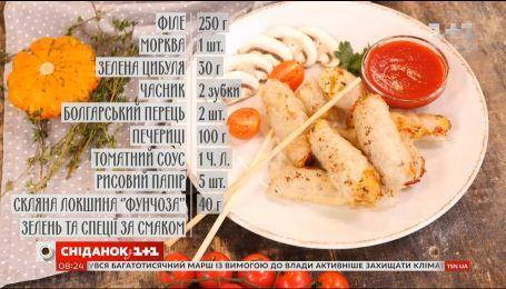 Жареные спринг-роллы с курицей - рецепты Руслана Сеничкина