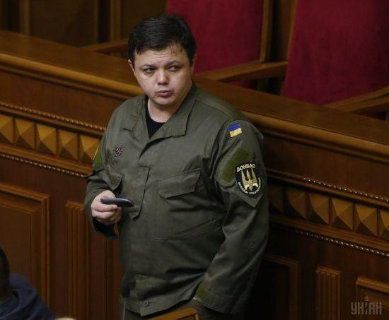 Семенченко назвав імена затриманих у Грузії українців