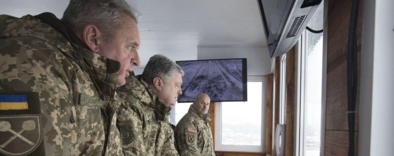 Порошенко запевнив, що українська армія готова ділитися досвідом з польською