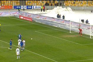 Динамо – Чорноморець – 1:0. Відео голу Циганкова
