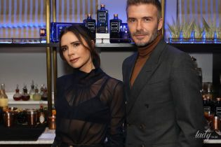 В бюстгальтере и прозрачной блузке: Виктория Бекхэм с мужем сходила на вечеринку
