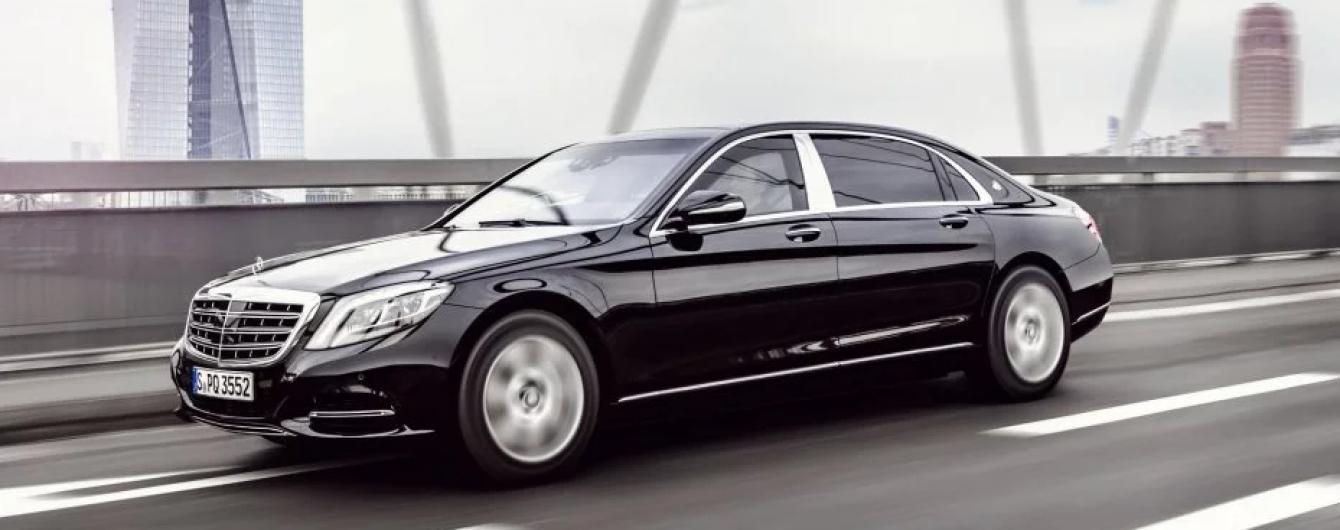 Президентский гараж пополнят премиальными бронированными Mercedes
