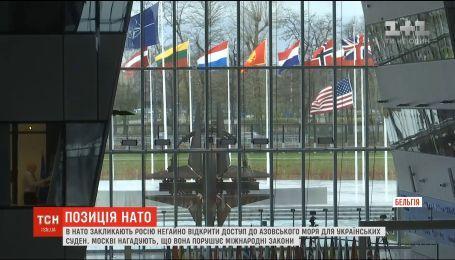 Сполучені Штати хочуть підготувати спільну відповідь НАТО на агресію у Керченській протоці