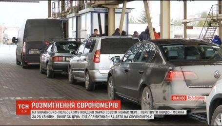 В Украине бум на растаможку автомобилей в еврономерах