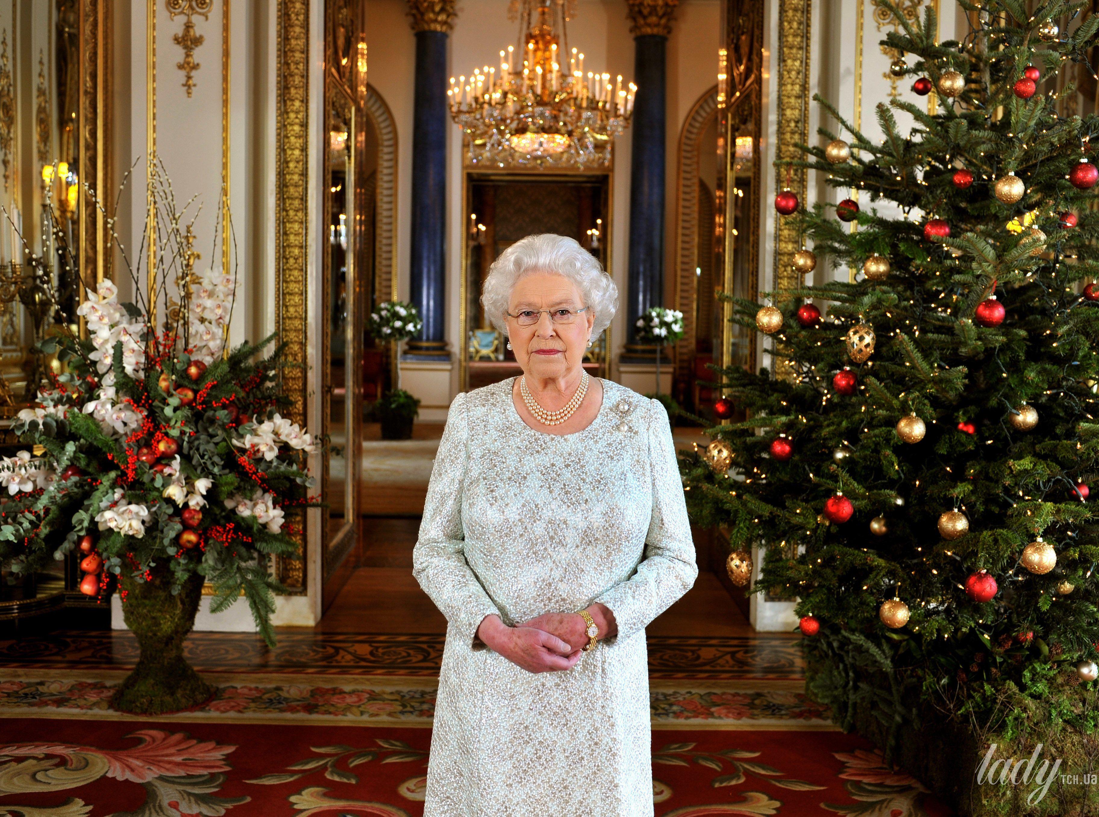 Королева Елизавета II и Рождество