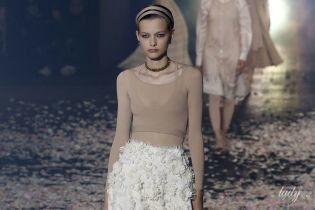 Балетные и этнические мотивы в коллекции Dior сезона весна-лето 2019