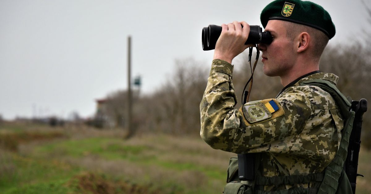 Несколько десятков человек попытались заблокировать украинский КПП на границе с Россией