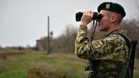 На адмінмежі із Кримом прикордонники спіймали бойовика із російськими нагородами