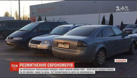 """Владельцы """"евроблях"""" оставляют свои машины в Польше, чтобы не платить пошлину и залог"""