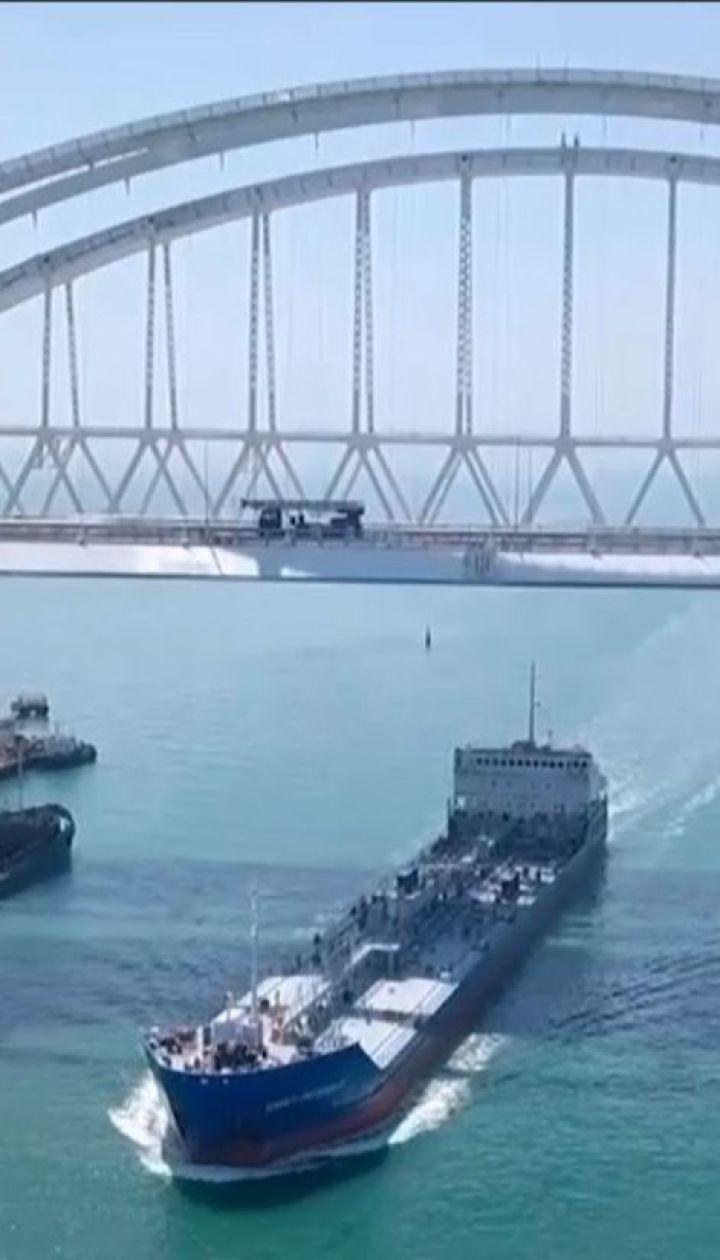 Росія подвоїла кількість військових кораблів в акваторії Азовського моря