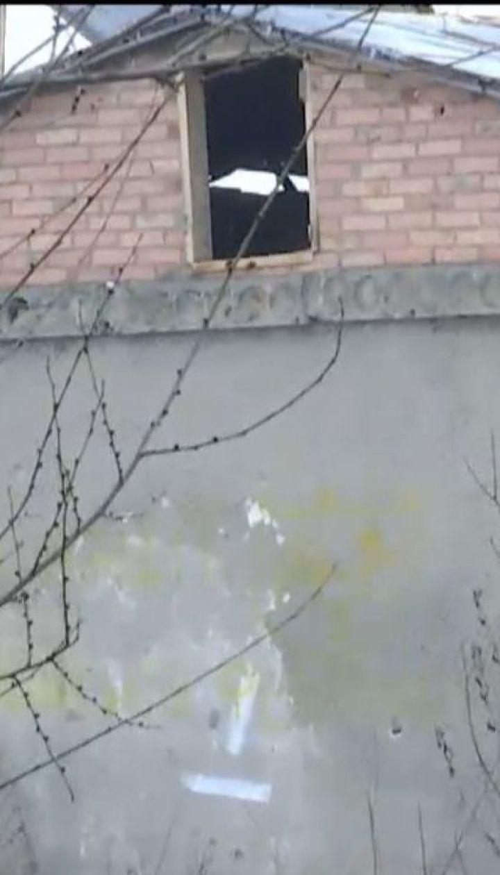 Один украинский боец получил ранения на Восточном фронте
