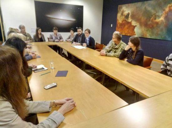 Посол США зустрілася з родинами полонених українських моряків