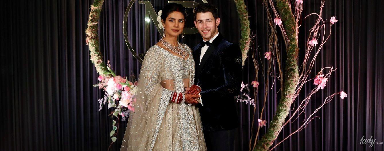 Это было роскошно: три образа Приянки Чопры на свадьбе с Ником Джонасом