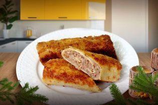 Блинчики с мясом по-польски