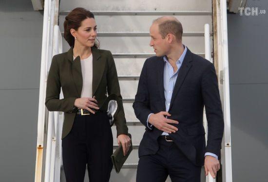 Кейт Міддлтон у штанях, як у Меган, разом з принцем Вільямом прибули на Кіпр