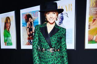 В леопардовом жакете и стильной шляпе: эффектный образ Кати Осадчей на светском мероприятии