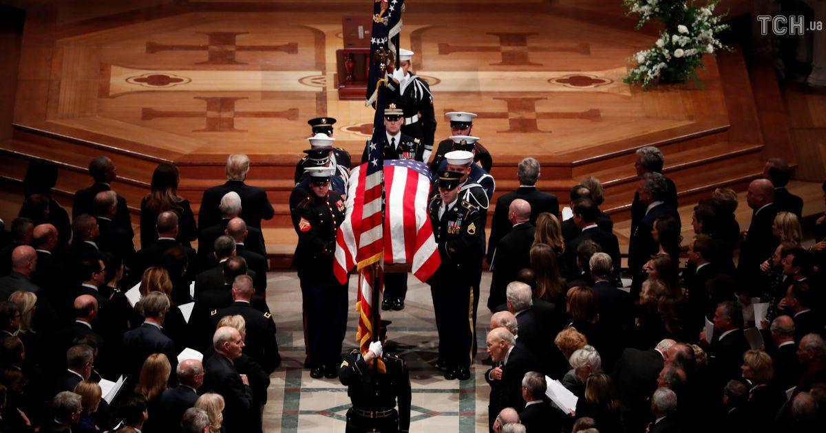 Прощання з Бушем-старшим: церковну службу у Вашингтоні відвідалисвітові лідери