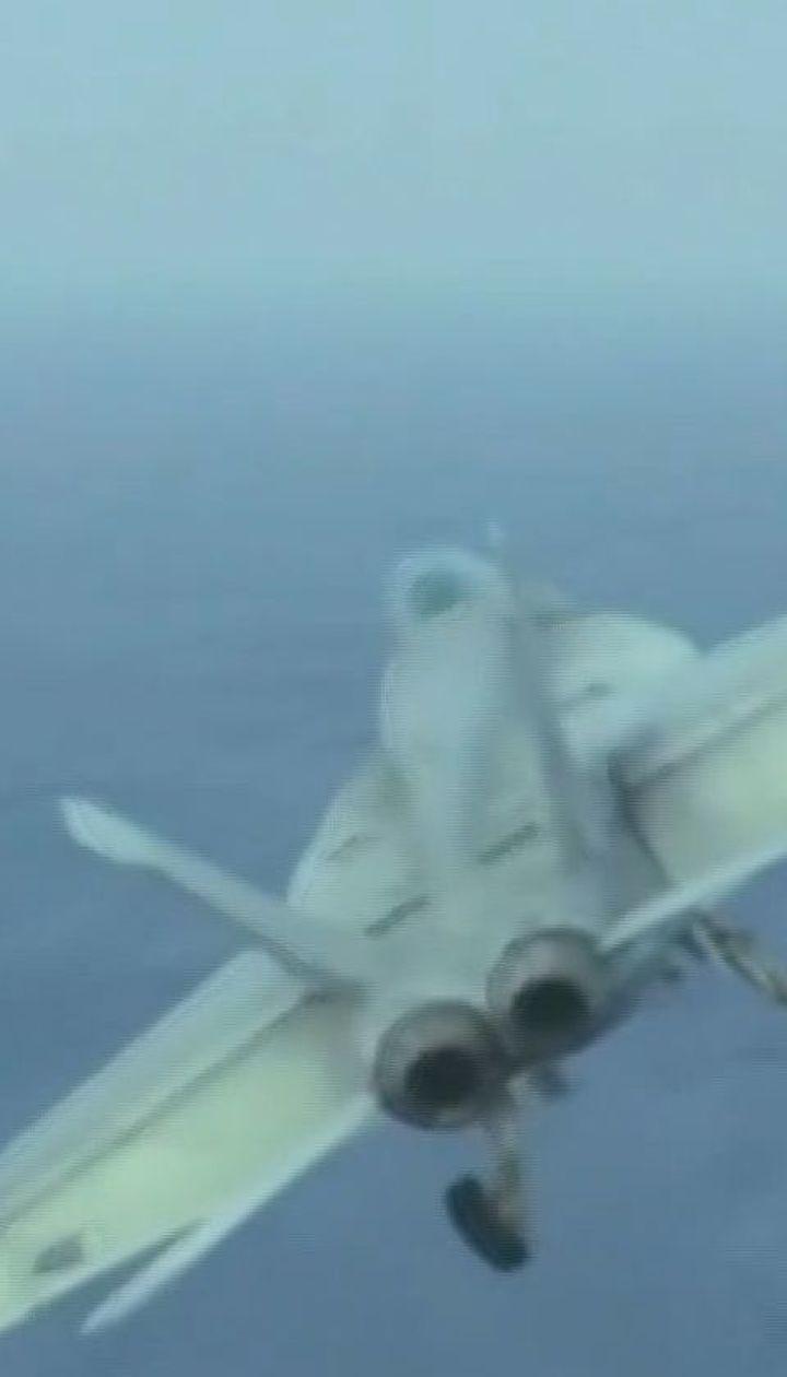 Два американских военных самолета упали в океан у берегов Японии