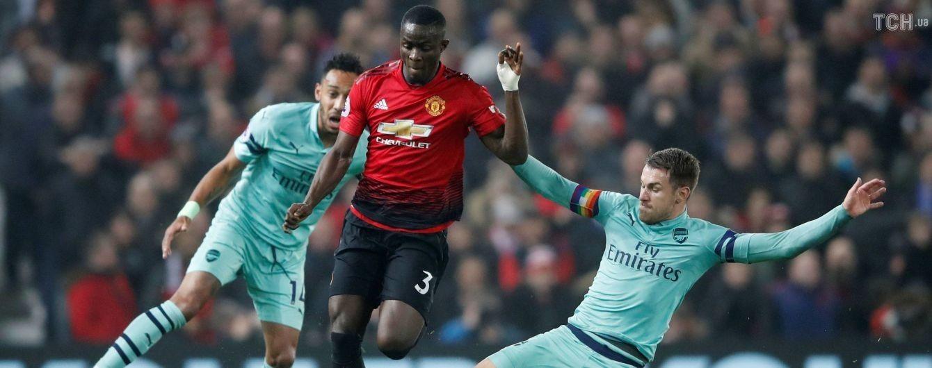 """""""Манчестер Юнайтед"""" на очах Тайсона Ф'юрі розписав видовищну нічию з """"Арсеналом"""" в АПЛ"""