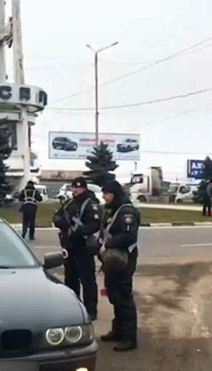 На въездах и выездах из Одессы силовики развернули 31 блокпост