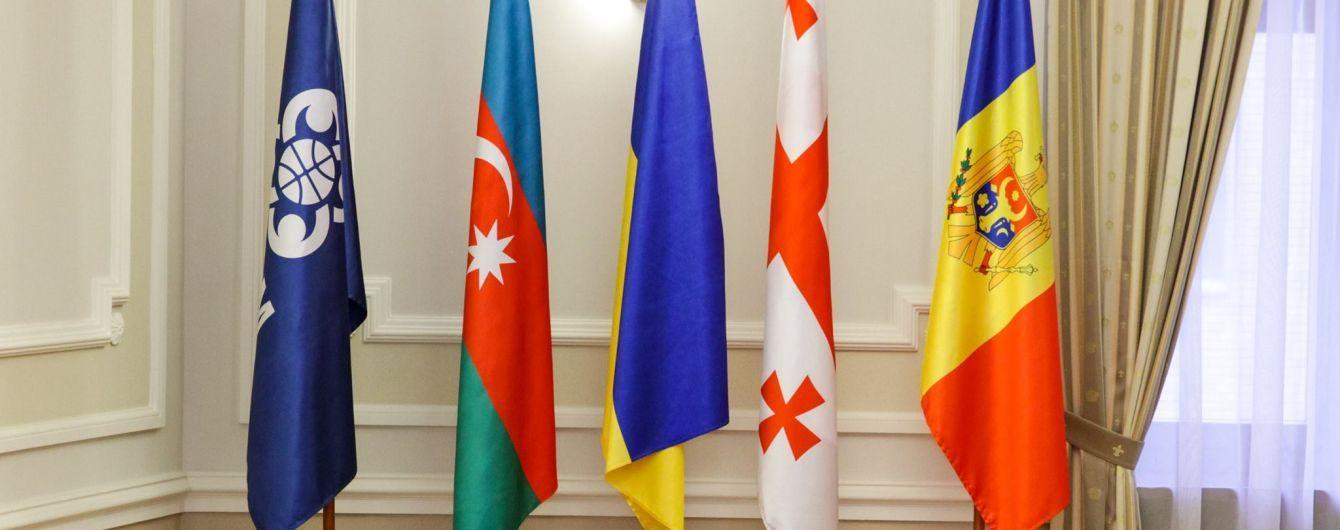 Украина получила бразды правления в ГУАМ