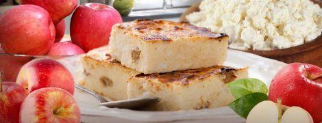 Простой яблочный сырник
