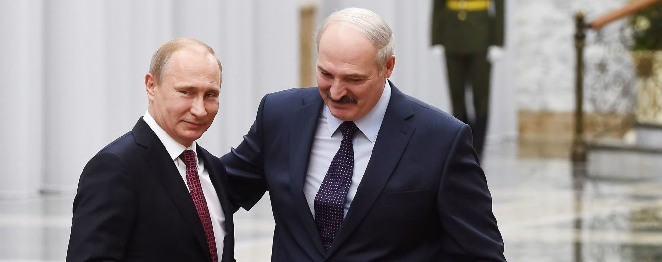 Лукашенко та Путін під час зустрічі віч-на-віч обговорили Україну