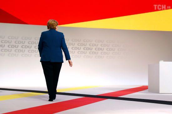 """""""Це була честь для мене"""": Меркель офіційно покинула посаду очільника своєї партії"""