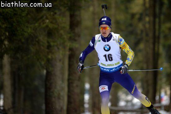Семенов фінішував у топ-10 на Чемпіонаті Європи з біатлону, Ткаленко - 11-й