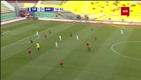 Заря - Арсенал-Киев - 2:0. Видео гола Громова