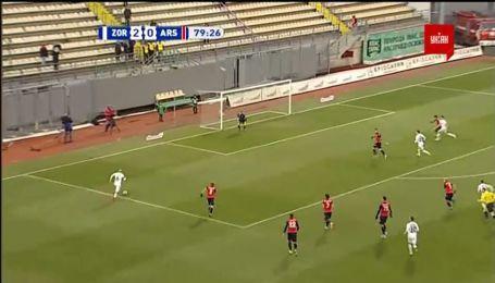 Заря - Арсенал-Киев - 3:0. Видео гола Каменюки