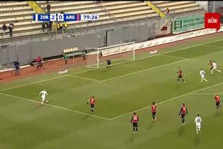 Зоря - Арсенал-Київ - 3:0. Відео голу Каменюки